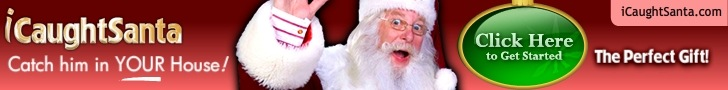 Catch Santa in the act with iCaughtSanta.com {Giveaway–5 Winners!}