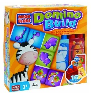 MEGA Bloks Domino Build Game (Review + Giveaway)