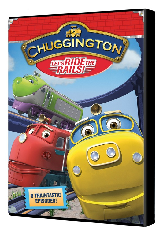 Chuggington Let's Ride the Rails (Review + Giveaway)