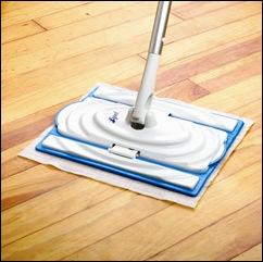 Hardwood Floor Shot (flaps down)