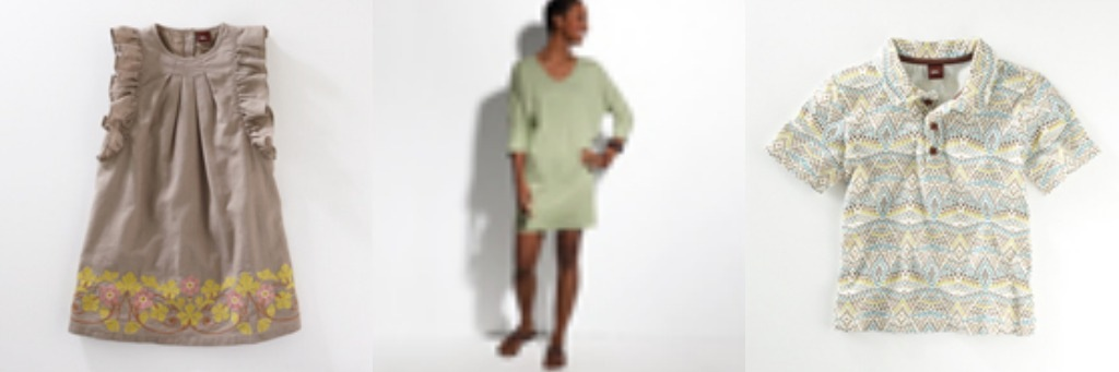 Designer clothing for women and children by Tea Collection $100