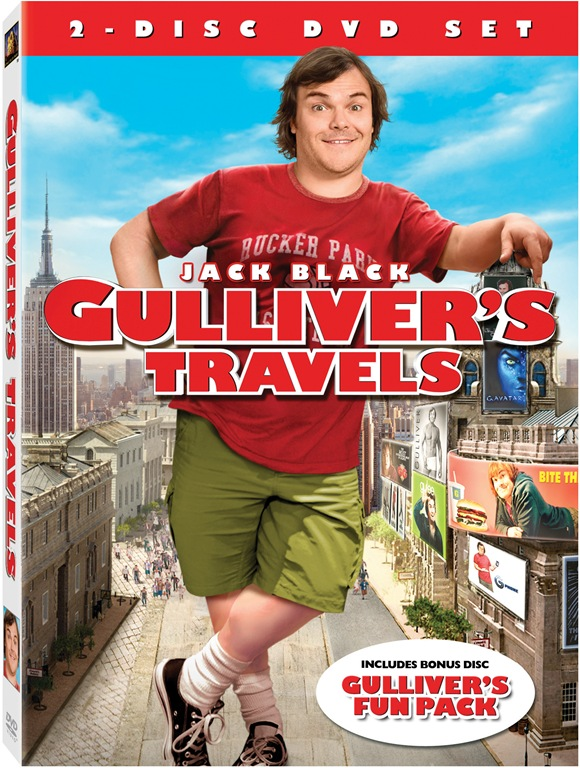 Gulliver's Travels with Jack Black on DVD (Review & Giveaway)
