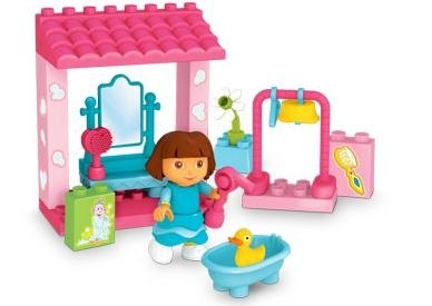 Dora's Bath Time Set from Mega Bloks (Review + Giveaway)