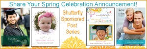 What's Your Spring Celebration Announcement? (Win 50 Announcement Cards from Shutterfly!)