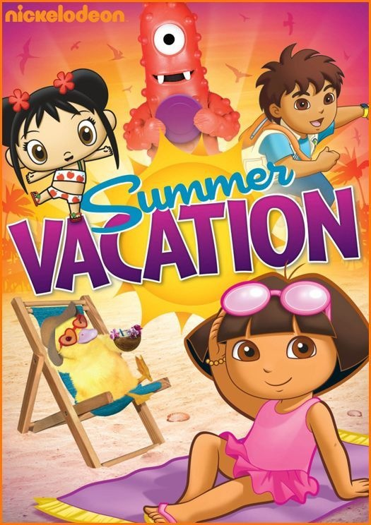 Nickelodeon Summer Vacation DVD–Releasing on June 21st
