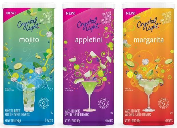 The Appletini I Created with Crystal Light Mocktails