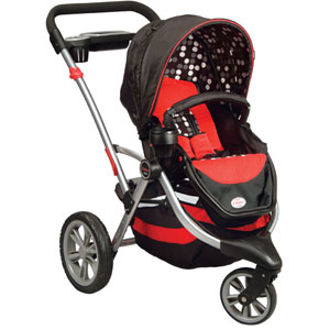 Kolcraft Contours Options 3-Wheel Stroller (Review & Giveaway)