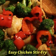 Easy Chicken Stir Fry Recipe (1sp)