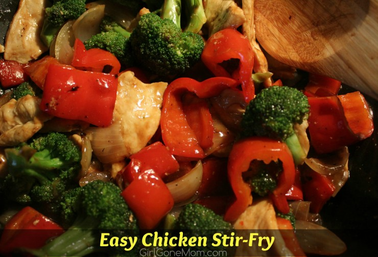 Easy Chicken Stir-Fry - no obscure ingredients!