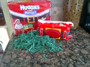 Huggies Little Movers Limited Edition Santa Print Diapers: Review & Giveaway