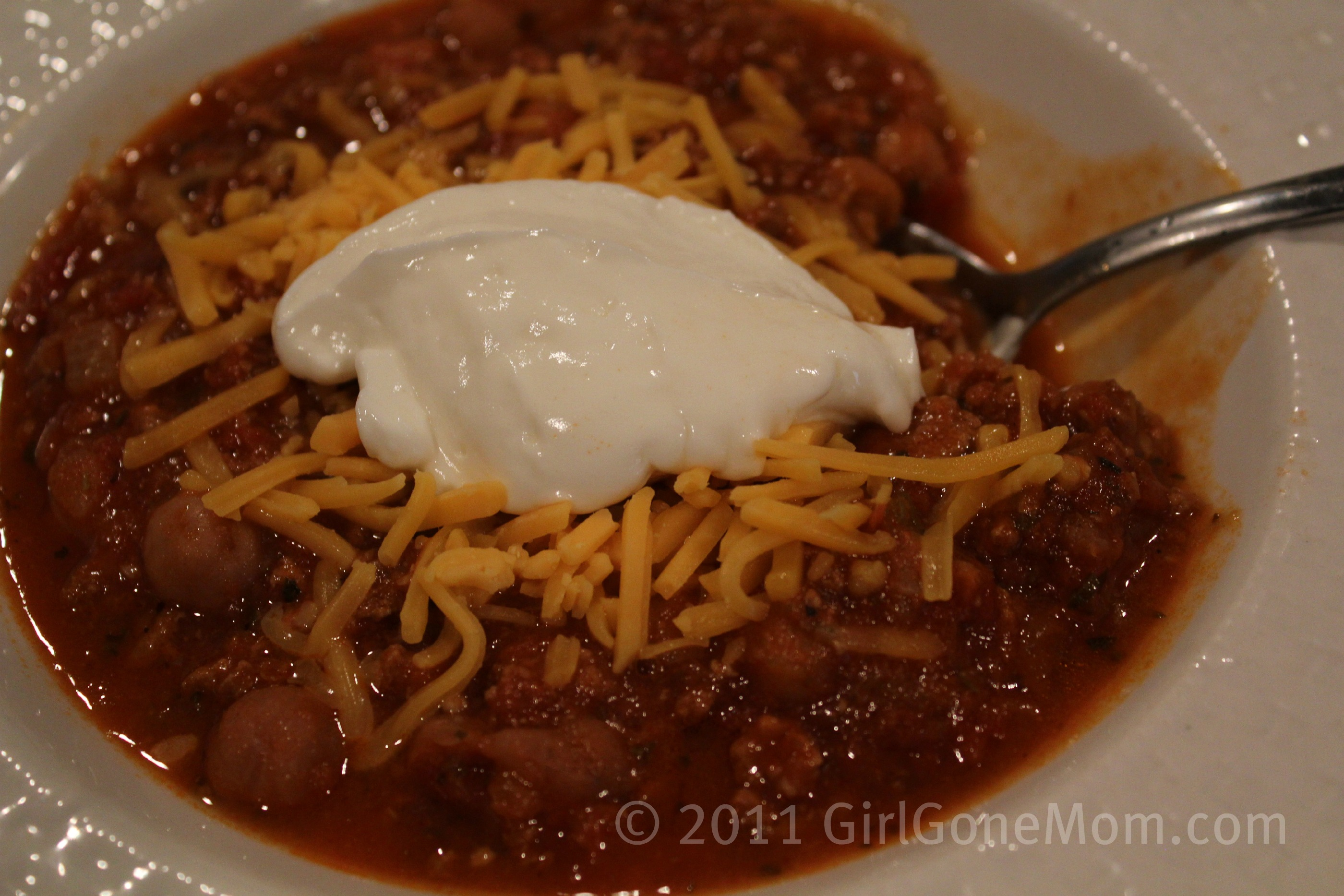 Spicy Slow Cooker Southwestern Turkey Chili