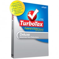 Turbo Tax Deluxe Review and Give Away