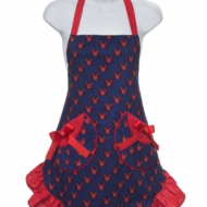Pink Butterfly Aprons – for the entire family (Giveaway)