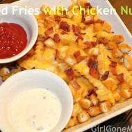 Loaded Chicken Nugget French Fries