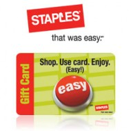 Back to School With Staples ($25 Gift Card #Giveaway)