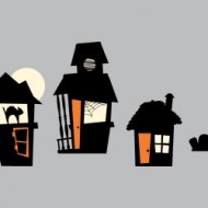WeeDecor Halloween Decals (Haunted Houses Giveaway)