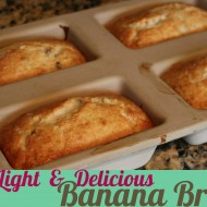 Light & Delicious Banana Bread Recipe