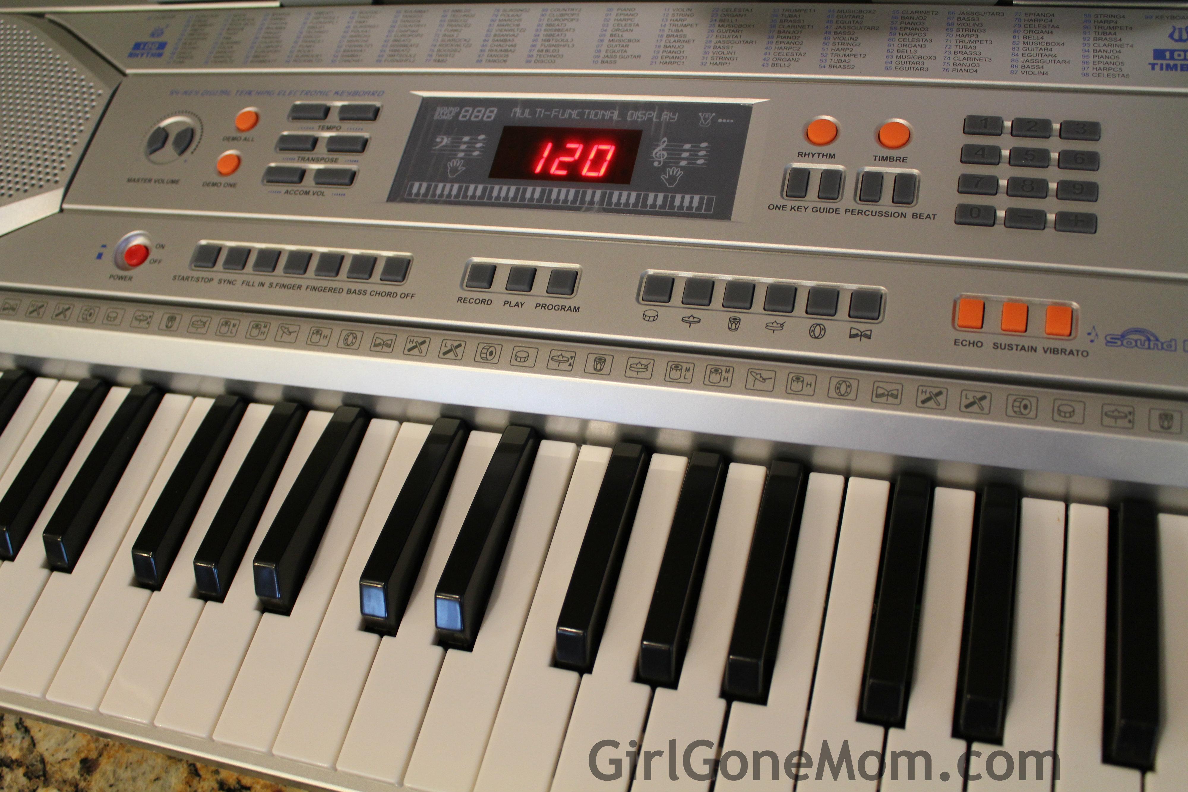Gift Guide Giveaway Sun Mate 54 Key Digital Keyboard