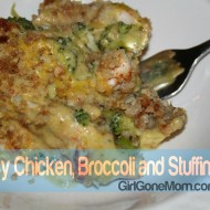 Cheesy Chicken, Broccoli and Stuffing Bake