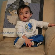 Wordless Wednesday – Ryan at 9 and 10 months