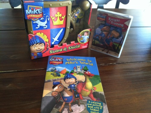 Mike the Knight prize pack giveaway at GirlGoneMom.com!