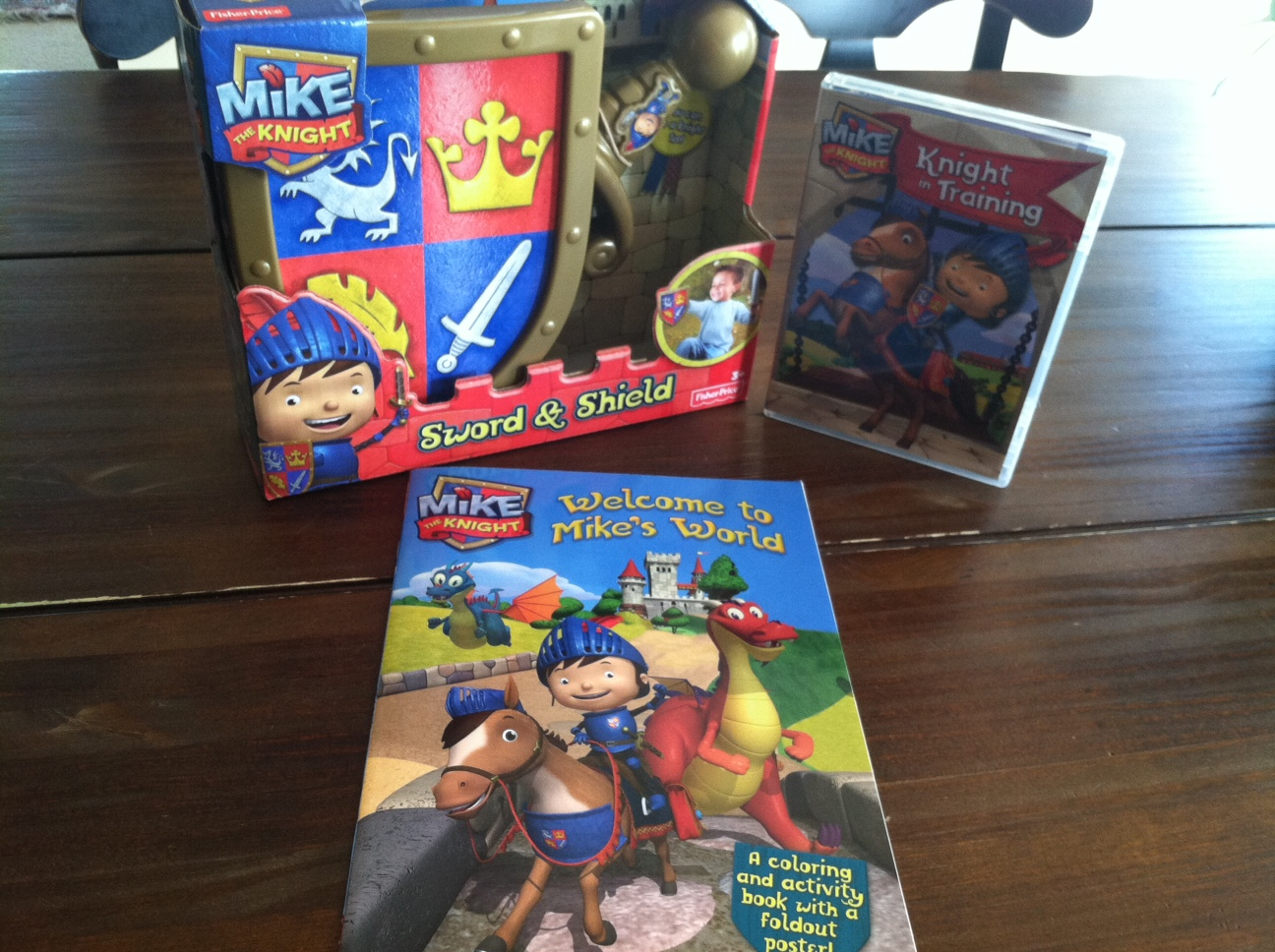 mike and mike sweepstakes welcome to mike s world mike the knight prize pack 7888