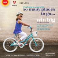 Win $250 in Gift Cards and a Trek Bike from Umi Shoes!