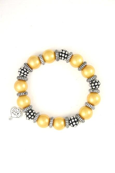 B45 Charm Bracelet-Gold