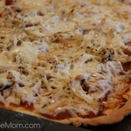 Bruschetta Chicken Pizza Kraft Meal Recipe #KraftRecipeMakers