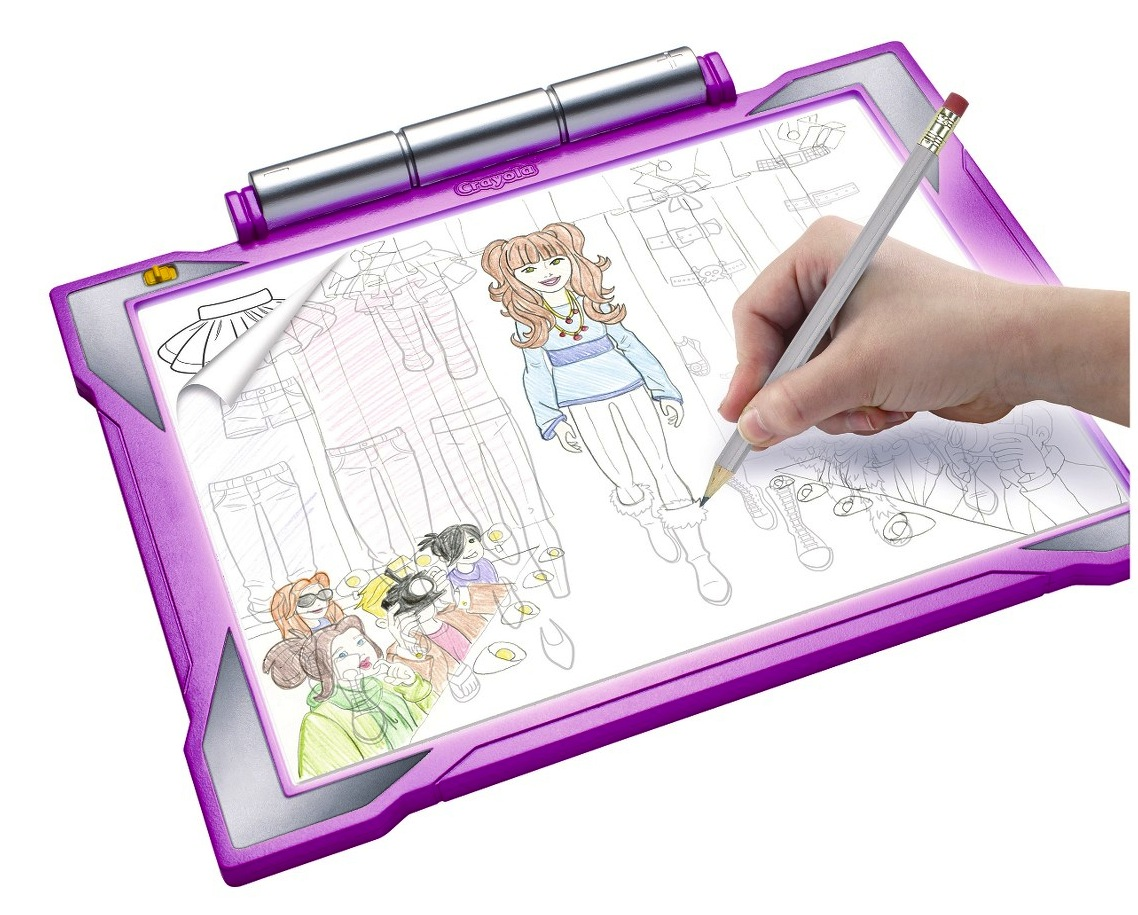 Gift Guide Crayola Light Up Tracing Pad Review And Giveaway