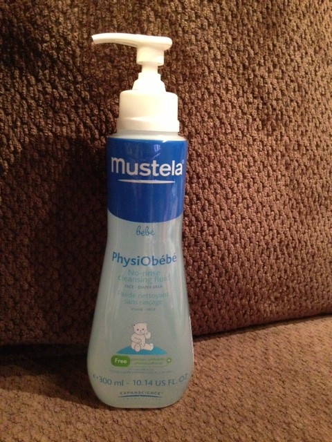 how to use mustela no rinse cleansing fluid