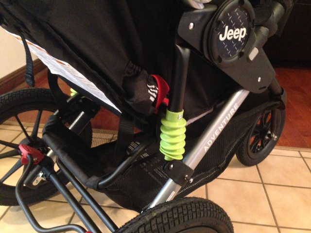 Oh Baby Kolcraft Jeep Adventure Jogger Stroller Review