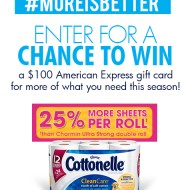 Cottonelle More is Better – $500 Giveaway!