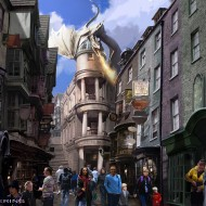 Diagon Alley and More at Universal Studios (Preview)