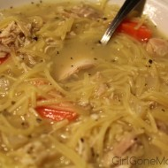 Leftover Rotisserie Chicken Noodle Soup Recipe