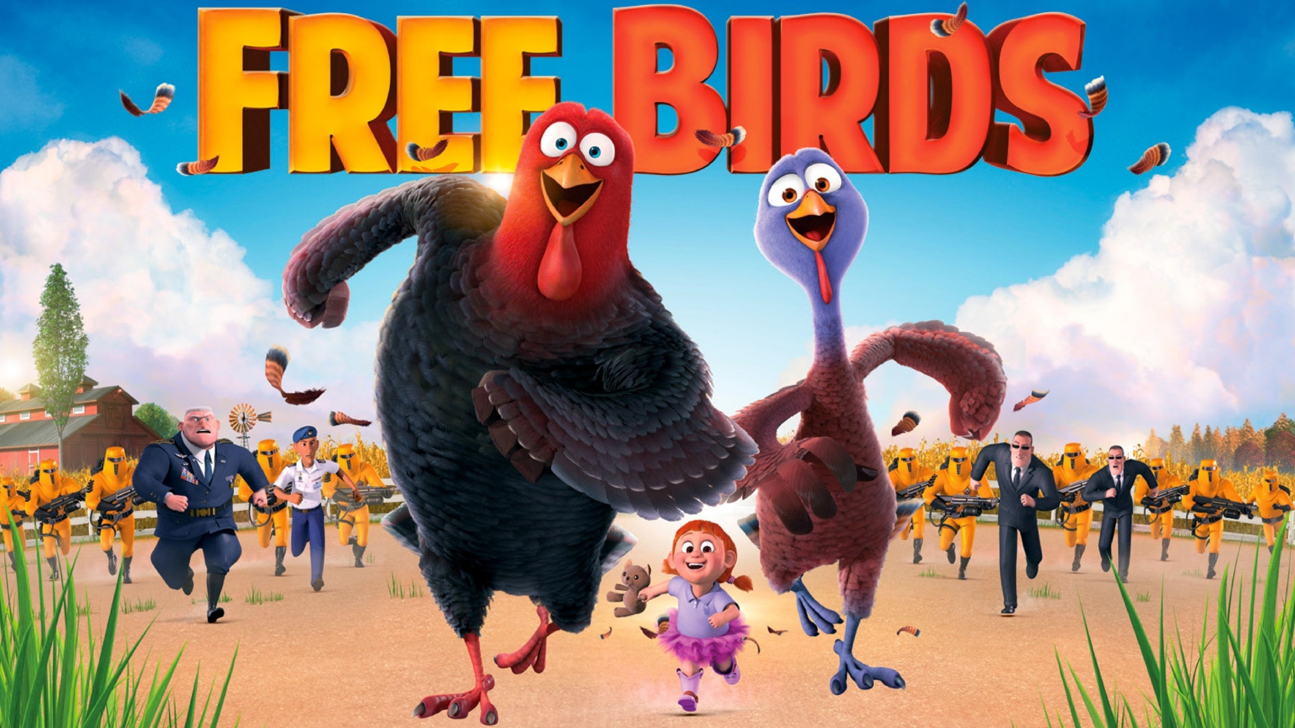 FREE BIRDS Now Available on Blu-Ray and DVD - Girl Gone Mom