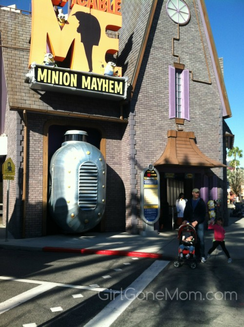 Despicable Me Minion Mayhem: Visiting both parks in a single day at Universal Studios Orlando