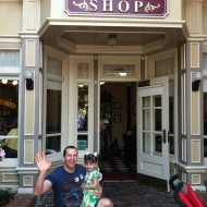 Harmony Barber Shop in Magic Kingdom