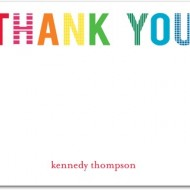 Tiny Prints Thank You Cards 40% Off TODAY ONLY