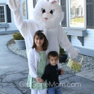 The Easter Bunny Visited Us in Vermont!