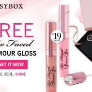 FREE Too Faced Lip Gloss with GlossyBox Purchase ($19 Value)
