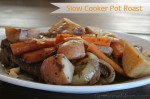 One dish slow cooker pot roast