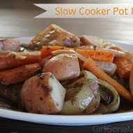 One Dish Slow Cooker Pot Roast Recipe