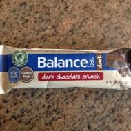 Balance Bar Dark Bars Review and Giveaway