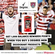Cheering on the U.S. World Cup Soccer Team with Walgreens and Degree