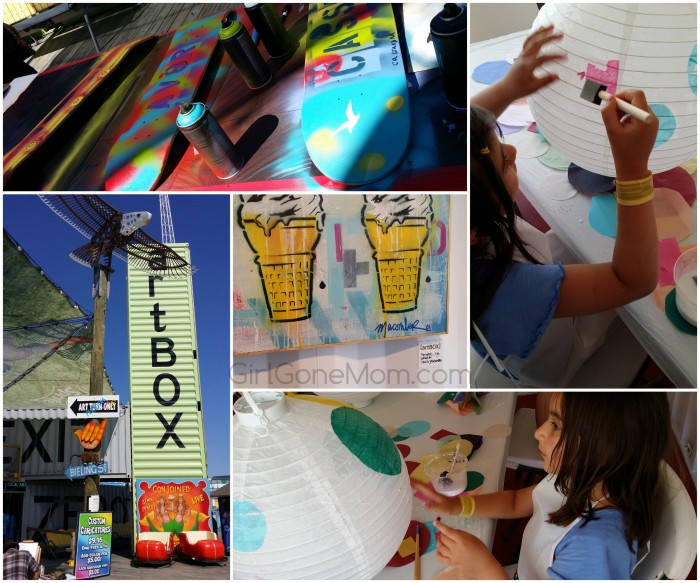 artBOX at Morey's Piers, Wildwood at the #JerseyShore. Family #Travel Review | GirlGoneMom.com