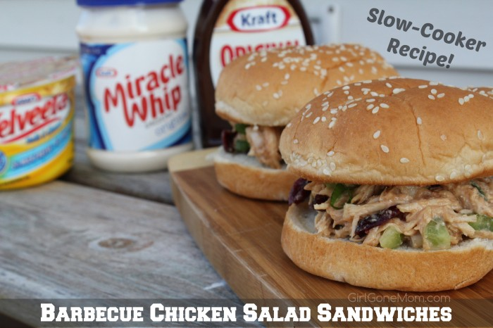 Chilled Barbecue Chicken Salad Sandwiches