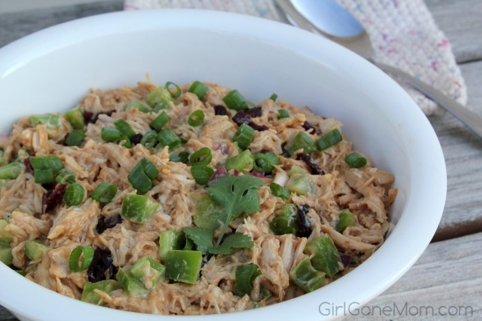 Chilled Barbecue Chicken Salad