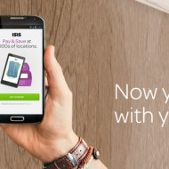 Pay with your phone and the Isis Mobile Wallet app