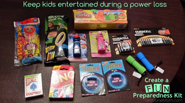 Keep Kids Entertained During Power Loss #PrepWithPower #Shop